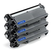 3 PACK SaveOnMany ® Brother TN-660 TN660 / TN630 TN-630 Black High Yield New Compatible BK Toner Cartridge For DCP-L2520DW, DCP-L2540DW, HL-L2300D, HL-L2305W, HL-L2320D, HL-L2340DW, HL-L2360DW, HL-L2380DW, MFC-L2680W, MFC-L2700DW, MFC-L2705DW, MFC-L2707DW, MFC-L2720DW, MFC-L2740DW
