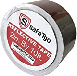 "Reflective Tape by SafeTgo 2"" X 10' Honeycomb DOT"