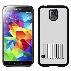 New Personalized Custom Designed For Samsung Galaxy S5 I9600 G900a G900v G900p G900t G900w Phone Case For Barcode Phone Case Cover