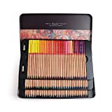 Marco Renoir Fine Art 100 Colors Colored Pencil Oil Base Non-toxic Pencils+ Gift