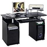 Tangkula Computer Desk Work Station Home Office furniture (Black)