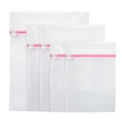 Zilong Bolsa de lavandería Poliéster Bolsas para ropa interior Lavadora Bolsa de Malla Bolsas para la