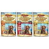 Zuke's Skinny Bakes Mini 10 Calorie Dog Biscuits 3 Flavor Variety Bundle: (1) Zuke's Skinny Bakes Peanut Butter 'N Banana, (1) Zuke's Skinny Bakes Cherry 'N Berry, and (1) Zuke's Skinny Bakes Pumpkin 'N Sweet Potato, 12 Oz. Ea. (3 Bags Total)