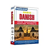 Pimsleur Danish Basic Course - Level 1 Lessons 1-10 CD: Learn to Speak and Understand Danish with Pimsleur Language Programs