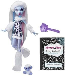 Monster High BCH81 - Muñeca Abbey (Mattel)