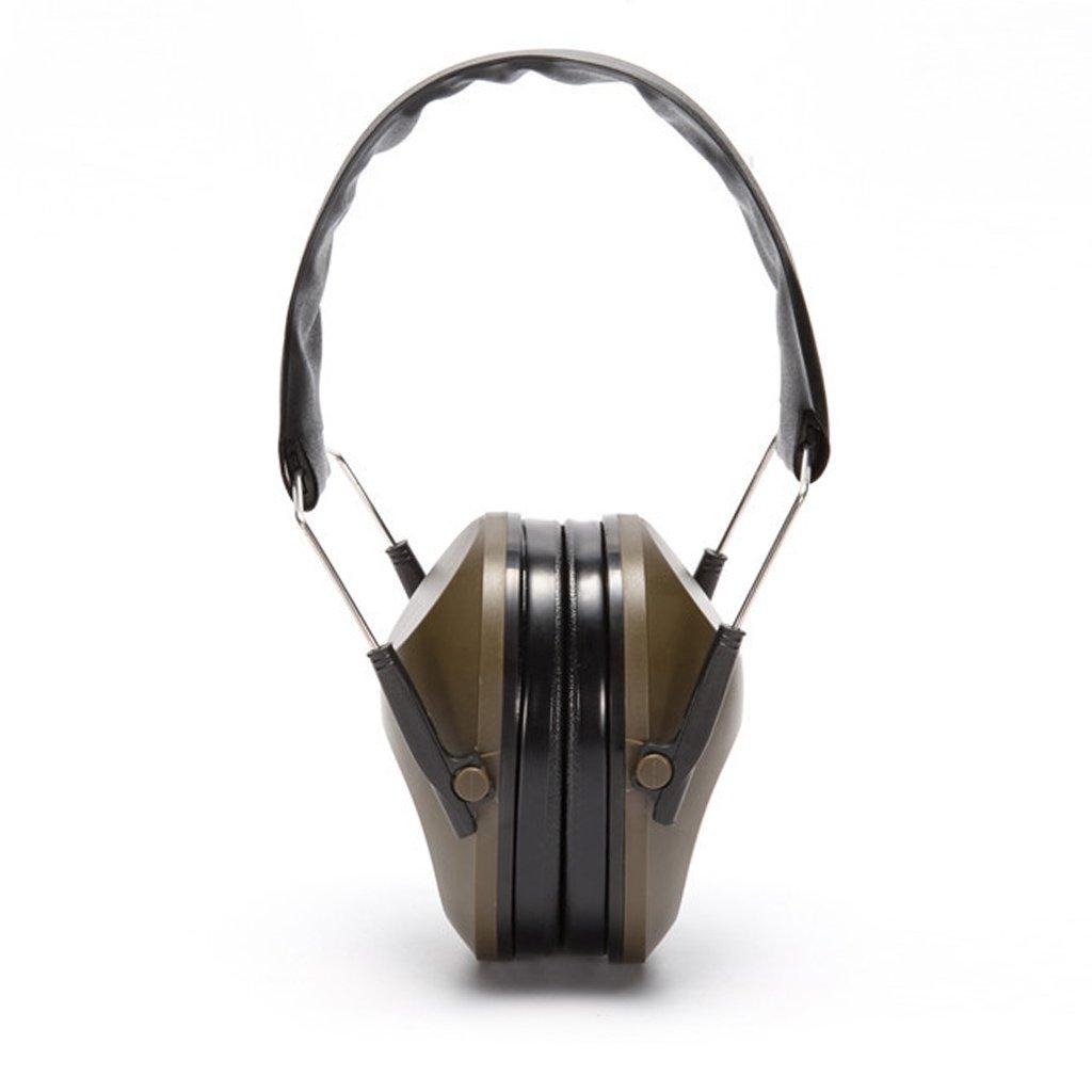 Reducció n de Ruido jiamins Orejeras, Plegable Cinta, Protecció n auditiva Tiro Deportivo, Negro Protección auditiva Tiro Deportivo