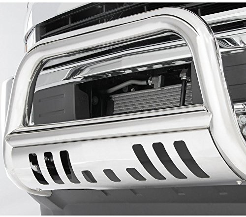 Gldifa Bull Bar Front Bumper w/Skid Plate Grill Guards For 2010-2018 Dodge Ram 2500 3500