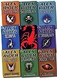 Alex Rider Collection 9 books Set By Anthony Horowitz. (Scorpia Rising Stormbreaker Point Blanc Skeleton Key Eagle Strike Scorpia Ark Angel Snakehead Crocodile Tears)