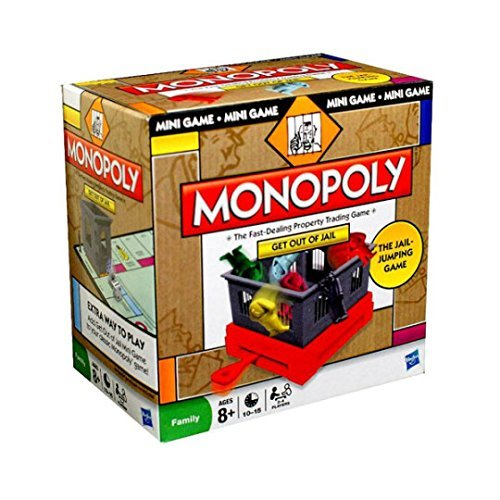 - Parker Brothers Games Monopoly Get Out of Jail Mini Game