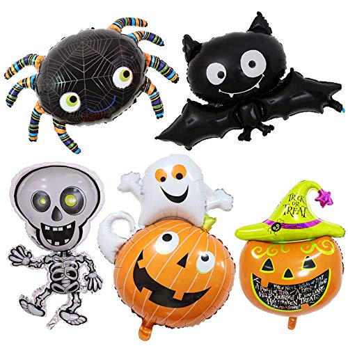 5PCS Cute Halloween Pumpkin Themed Party Decoration Complete