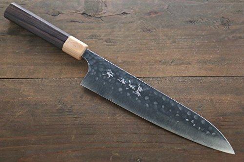 YU KUROSAKI R2/SG2 STEEL HAMMERED JAPANESE CHEF'S GYUTO KNIFE 210MM by Yu Kurosaki