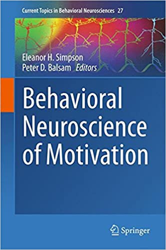 amazon behavioral neuroscience of motivation current topics in