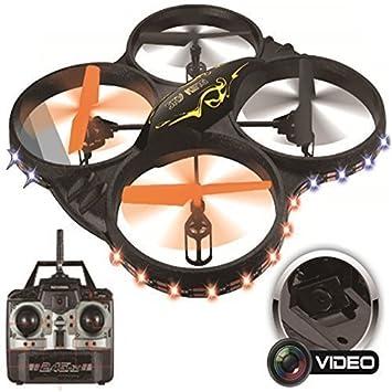 Sky King 2.4ghz 6-Axis radiocontrol Remoto Gyro Cuadricóptero LED ...