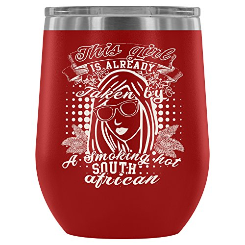 - Stainless Steel Tumbler Cup with Lids for Wine, Taken By A South African Wine Tumbler, South African Guy Vacuum Insulated Wine Tumbler (Wine Tumbler 12Oz - Red)