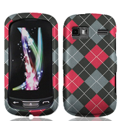 LF 3 in 1 bundle Accessory - Design Hard Case Cover, Lf Stylus Pen & Wiper For LG Rumor Reflex LN272 (Agryle) (Lg Rumor Reflex Cover compare prices)