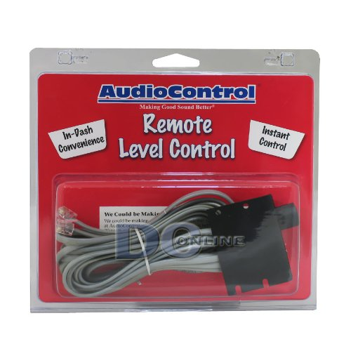 Audio Control Wired Remote Control for The Epicenter, LC2i, LC6, 6XS and Overdrive Plus (Audio Control Overdrive)