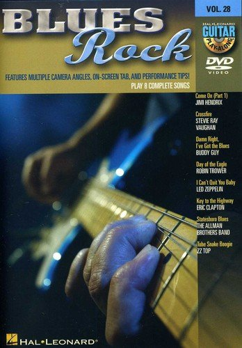 Blues Rock: Guitar Play-Along Vol. 28 from Hal Leonard