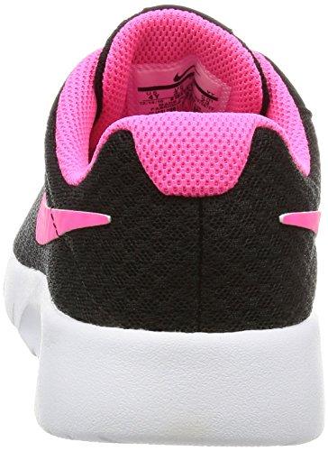 NIKE Kids Tanjun (GS) Black/Hyper Pink White Running Shoe 4 Kids US by Nike (Image #2)