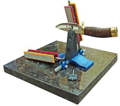 Wicked Edge Knife Sharpener - With Quartz Stone Base