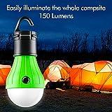FLY2SKY Tent Lamp Portable LED Tent Light 4 Packs