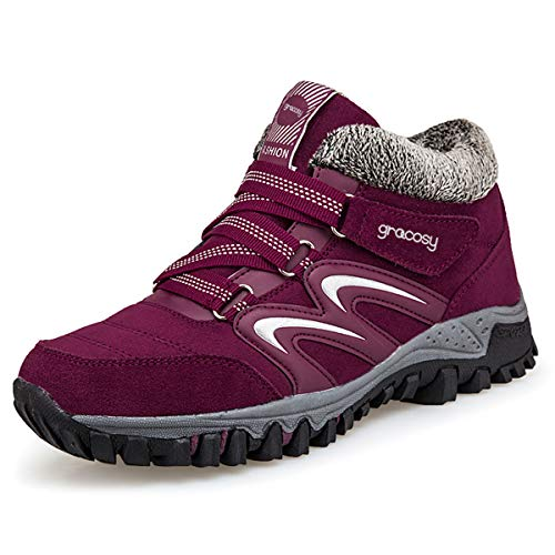 Pictures of gracosy Women's Hiking Shoes High Top GRACOSYWERTY21416 2