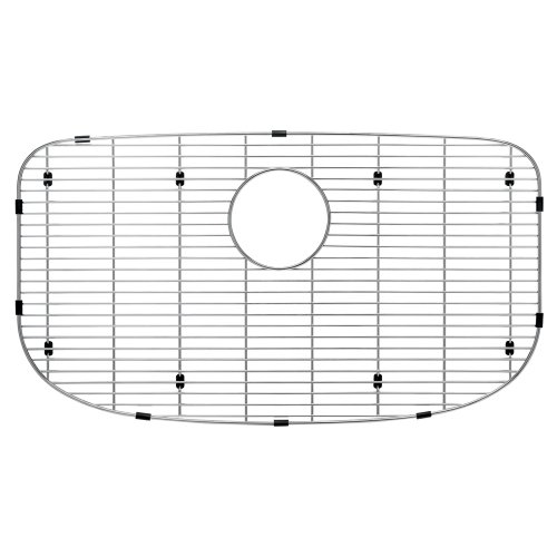 Blanco 230966 Sink Grid for Valea Super Single Bowl Kitchen Sink, Medium, Stainless Steel