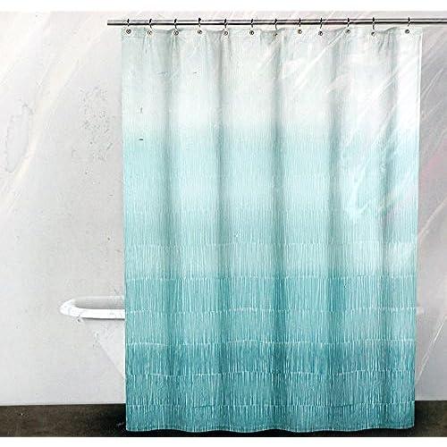 Turquoise Shower Curtains Amazon Com