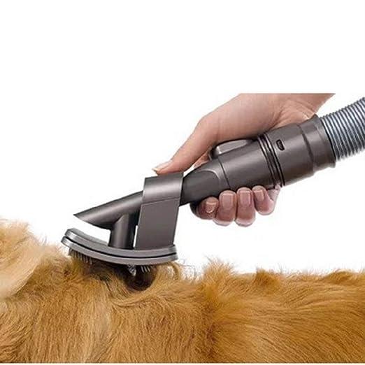 BNMGJ Cepillo de Herramienta para Mascotas para Perros Aspirador de alergias para Animales Aspirador de Animales Adaptador de aspiradora de última Pieza de Repuesto: Amazon.es: Productos para mascotas