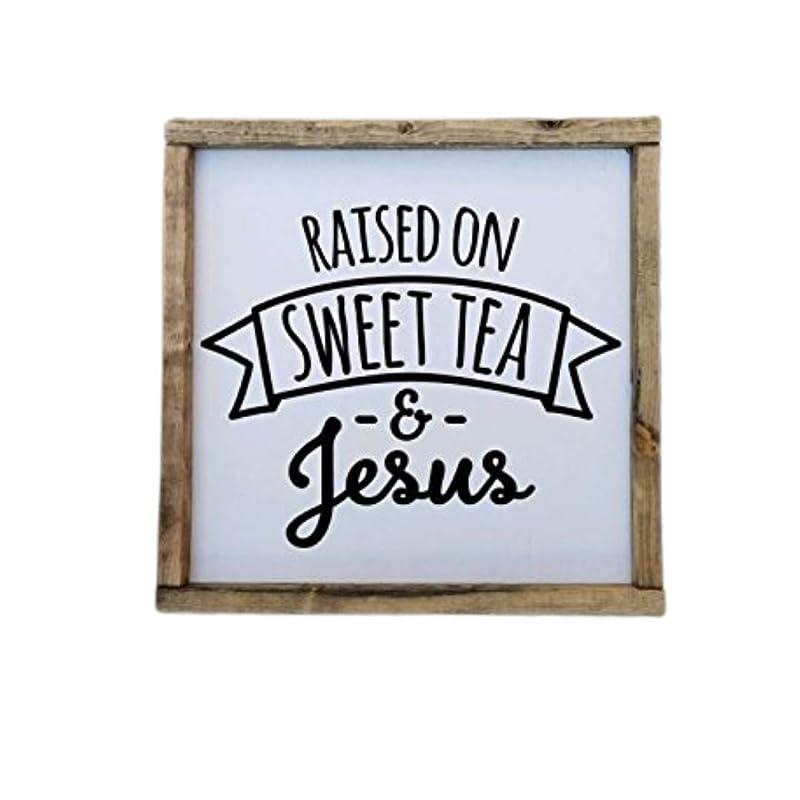 Coffee & Jesus Farmhouse style framed sign Farmhouse decor ...