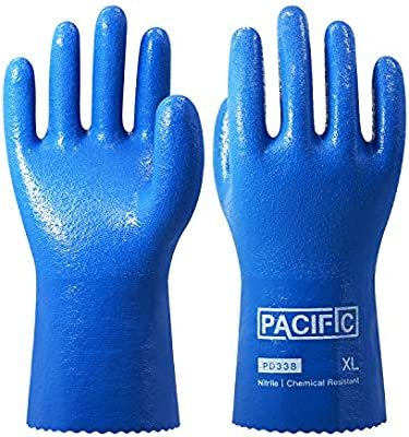 Anti-corrosion Gloves Anti-solvent And Solvent-resistant Acid And Alkali Resistant Green Butyl Rubber Long Industrial Rubber Gloves