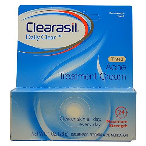 Clearasil Tinted Acne Treatment Cream, 1 Ounce