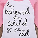 MIOIM Baby Girls Letter Pinted Saying Long Sleeve