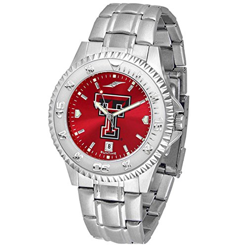 Texas Tech Red Raiders Competitor Steel AnoChrome Men's (Texas Tech Competitor Watch)