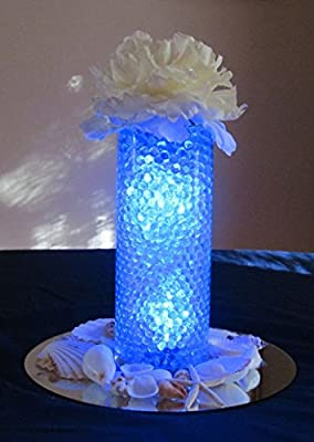 16,000 Floral Water Pearls - CLEAR - Vases and Centerpieces for Wedding beads - makes 12 gallons of water beads