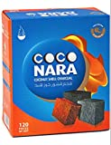 12 Boxes of Coco Nara Large 120 Count Hookah Charcoal - Includes a TSC Sticker