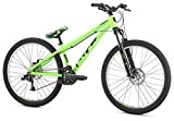 "Mongoose Mountain Bike Fireball 8 Speed 26"" Wheel, Green, One Size"