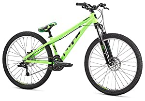 "Mongoose Men's Fireball 8 Speed 26"" Wheel, Green, One Size"
