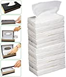 Kozdiko Car Tissue Paper Refiller for Dispenser Box Set of 10 with 200 Sheets(100 Pulls) in Each for All Cars
