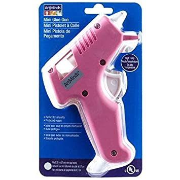 Artminds Pink Mini Glue Gun E231647