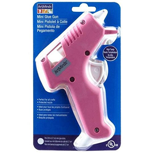 Artminds Pink Mini Glue Gun