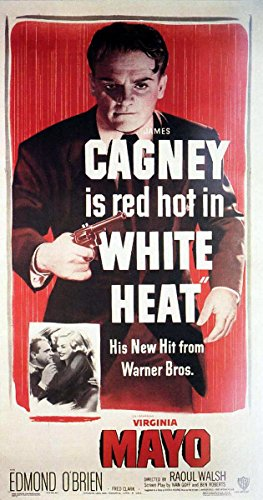 Old Tin Sign Poster - White Heat (1949) James Cagney
