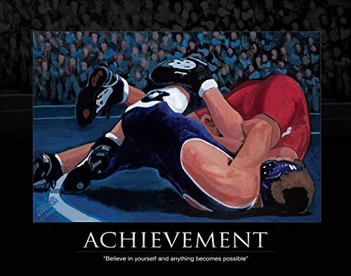 (Sports Artist Edgar J. Brown Achievement Wrestling Fine Art Print