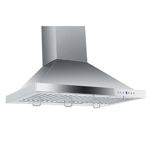 30 wall mount range hood golden vantage line kb30 30quot 760 cfm wall mount range hood stainless amazoncom 30
