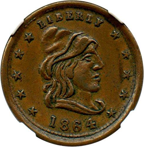 1863 Misc Tokens Civil War Token Dollar MS61 (1863 Civil War Token)