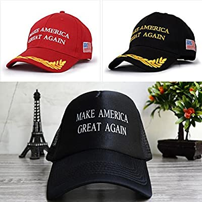 SOLOKA Make America Great Again Hat Donald Trump Republican Adjustable Mesh Cap For President