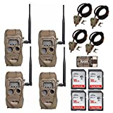 Cuddeback CuddeLink J Series Long Range IR 20MP Trail Camera 4-Pack with Python Cable and 16GB Card Review