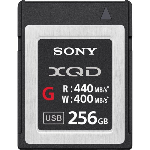 Sony Professional XQD G Series 256GB  Memory Card (QDG256E/J) by Sony