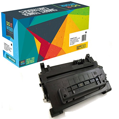 Do it Wiser Compatible Toner Cartridge Replacement for HP 64A ( Black ) (Hp Printer P4015n Laserjet)