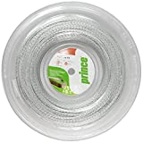 Prince Lightning XX Tennis String - 17 Gauge - 660' Reel - Clear with Silver -  Prince Racquet Sports
