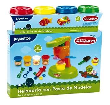Manualidedos Heladería Pasta de Modelar: Amazon.es: Juguetes ...